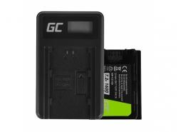 Green Cell Laptop Akku NP-FZ100 und Ladegerät BC-QZ1 für Sony Alpha 9 9R 9S A7 III A7R III A9 A9R
