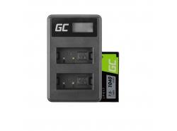 Green Cell Laptop Akku LP-E17 und Ladegerät LC-E17 für Canon EOS 77D, 750D, 760D, 8000D, M3, M5, M6, Rebel T6i