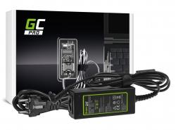 Fuente de alimentación / cargador Green Cell PRO 19V 1.75A 33W para Asus X201E Vivobook F200CA F200MA F201E Q200E S200E X200CA X