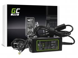 Fuente de alimentación / Cargador Green Cell PRO 19V 1.58A 30W para Acer Aspire One 521552 531 751 752 753 756 A110 A150 D150 D2