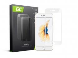 Cristal Templado para Apple iPhone 6 6S Película Protectora GC Clarity Vidrio real 9H Protección de pantalla completa