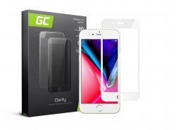 Cristal Templado para Apple iPhone 7 8 Película Protectora GC Clarity Vidrio real 9H Protección de pantalla completa