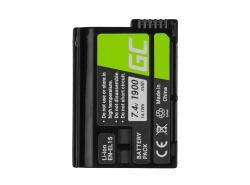 Green Cell ® Digitalkameras Akku für Cell Nikon D600 D800 D7000 D8000 7.0V