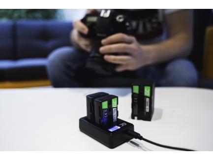 Cámara de batería cargador Coolpix a300 estación de carga para Nikon Coolpix s5300