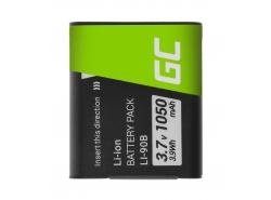 Green Cell Akku Li-90B / Li-92B para Olympus Tough TG-1 TG-2 TG-3 TG-Tracker Stylus SH-1 SP-100 XZ-2 VoiSquare 3.7V 1050mAh