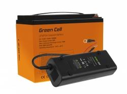 Batería LiFePO4 42Ah 12.8V 538Wh sistema fotovoltaico de batería de fosfato de hierro y litio