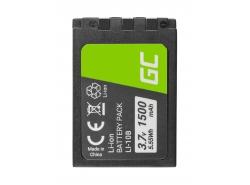 Batería Green Cell ® AHDBT-501 AABAT-001 para GoPro HD HERO5 HERO6 HERO7 Negro 3.85V 1220mAh