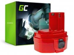 Batería Green Cell ® para Makita 1420 1433 1434 4033D 4332D 6228D 6337D 14.4V 3Ah