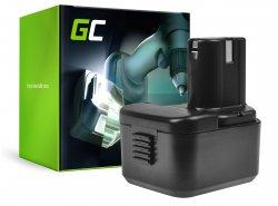 Green Cell® Batería (3Ah 12V) BCC1215 EB1214S EB1220BL EB12B para Hitachi CG10DL CH10DL DS12DVB2 DS12DVF3 RB18D UB12D WH12D