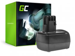 Green Cell ® Werkzeug Akku für Metabo BS 12 SP BSZ 12 12V 2Ah