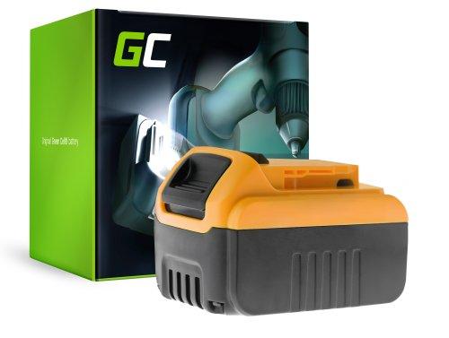 Green Cell® Batería (6Ah 18V) DCB182 DCB184 DCB185 DCB200 XR para DeWalt DCD740 DCD771C2 DCD780 DCD980 DCF885 DCS331 DCS381