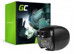Green Cell® Batería (2.1Ah 4.8V) 6.27270 6.27271 6.27273 6.31858 para Metabo PowerGrip 2 PowerMaxx 4.8 6.00059.50 6.00064.50
