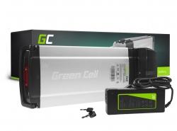 Batería recargable Green Cell Rack trasero 36V 8.8Ah 317Wh para bicicleta eléctrica E-Bike Pedelec