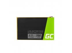 Green Cell ® Batería 1-853-104-11 LIS1476 para Sony Reader PRS-T1 PRS-T2 PRS-T3 PRS-T3E PRS-T3S, E-book capacidad 700mAh