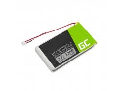 Batería Green Cell ® AHL03714000 VF8 1697461 para TomTom GO 530 630 630T 720 730 730T 930 930T SatNav, Li-Polymer 1300mAh 3.7V
