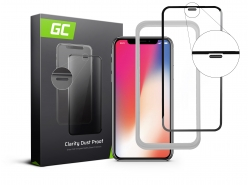 Cristal protector Dust Proof GC Clarity para Apple iPhone X, XS
