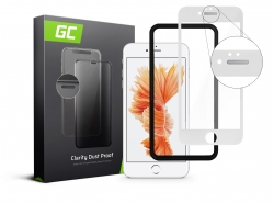 Cristal protector GC Clarity para Apple iPhone 6 Plus - Blanco