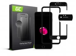 Protector de pantalla GC Clarity para Apple iPhone 7 Plus, 8 Plus - Negro
