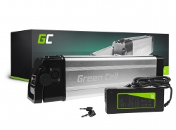 Batería recargable Green Cell Silverfish 36V 11Ah 396Wh para bicicleta eléctrica e-bike pedelec