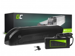Batería Batería Green Cell Down Tube 36V 11.6Ah 418Wh para bicicleta eléctrica E-Bike Pedelec