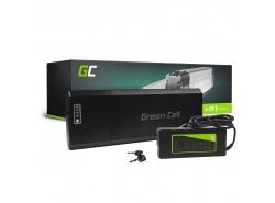 Batería recargable Green Cell Rack trasero 24V 13Ah 312Wh para bicicleta eléctrica E-Bike Pedelec