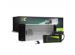 Batería recargable Green Cell Rack trasero 36V 14.5Ah 522Wh para bicicleta eléctrica E-Bike Pedelec