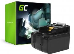Batería Green Cell (5Ah 14.4V) BL1415 BL1415N BL1430 BL1440 BL1450 para Makita BDF343 BJV140Z DC18RA DC18RC DDF456 DTD146