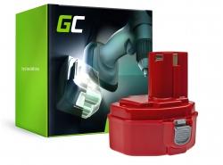 Batería Green Cell (2Ah 14.4V) PA14 1420 1422 1433 1434 1435 para Makita 6333D 6281D 6336D 6228D 6237D 6237DWDE 6337D 8280D