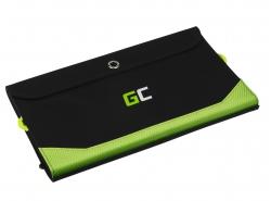 Cargador, panel solar Green Cell GC SolarCharge de 21 W con función de banco de potencia de 6400 mAh