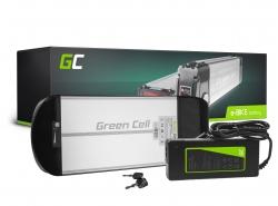 Batería Batería Green Cell Rack trasero 36V 10Ah 360Wh para bicicleta eléctrica E-Bike Pedelec