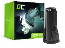Green Cell® Batería (2Ah 3.6V) 2607336241 BAT504 para Bosch GSR GBA 3.6 PRODRIVE Mx2Drive
