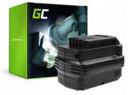Batería (3Ah 24V) DE0240 DE0241 DE0243 Green Cell para DeWalt DC222KA DC223KA DC224KA DW006 DW008 DW017