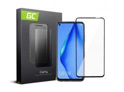 Cristal Templado para Huawei P40 Lite edge glue Película Protectora GC Clarity Vidrio real 9H Protección de pantalla completa