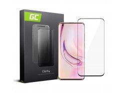 Cristal Templado para Xiaomi Mi 10 Pro edge glue Película Protectora GC Clarity Vidrio real 9H Protección de pantalla completa