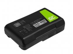 Batería Green Cell V-Mount para Sony BP-95W 6600mAh 95Wh 14.4V