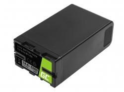 Batería Green Cell BP-U90 BP-U60 BP-U30 para Sony 5200mAh 75Wh 14.4V