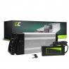 Green Cell® Bateria Bicicleta Electrica 48V 11Ah Silverfish Li-Ion Batería y Cargador