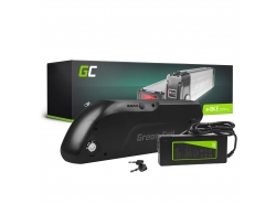 Batería recargable Green Cell Down Tube 36V 13Ah 468Wh para bicicleta eléctrica E-Bike Pedelec