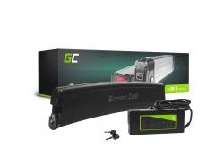 Batería recargable Green Cell Frame Battery 36V 7.8Ah 281Wh para bicicleta eléctrica E-Bike Pedelec