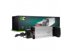 Green Cell® Bateria Bicicleta Electrica 36V 20.3Ah con Celdas Samsung Rear Rack Li-Ion Batería y Cargador