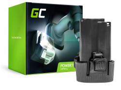Batería Green Cell (1.5Ah 10.8V) BL1013 BL1014 194550-6 194551-4 195332-9 para Makita DC10WA DF330 DF330D DF330DWE TD090 TD090D