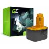Green Cell® Batería (1.5Ah 12V) A9252 DE9037 DE9071 DE9074 para DeWalt / Black&Decker BSA12K CD1200 DW907 CD12C DC740KA DC742K