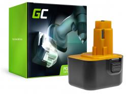 Green Cell Akkuwerkzeug para DeWalt DE9074 2802K 2812K DC740KA