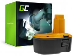Green Cell® Batería (3Ah 14.4V) DC9091 DC9094 DE9038 DW9091 DW9094 para DeWalt DC528 DC728KA DC731KA DC985KA DW966K DW985 DW996K