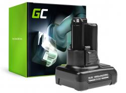 Batería Green Cell (2Ah 10.8V) GBA 12V 2607336333 D-70745 2607336013 BAT414 para Bosch GAS GLI GSR 10.8V-LI 10.8V-LI