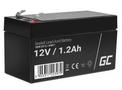 Green Cell ® Gel Batterie AGM VRLA 12V 1.2Ah