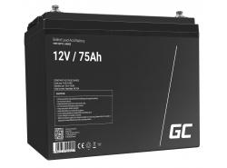 Green Cell ® Gel Batterie AGM VRLA 12V 75Ah