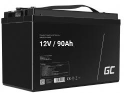 Green Cell ® Batterie AGM VRLA 12V 90Ah