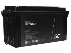 Green Cell ® Batterie AGM VRLA 12V 120Ah