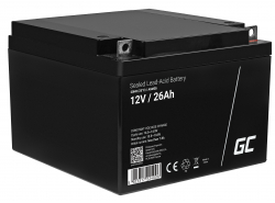 Batería Green Cell ® AGM VRLA 12V 26Ah